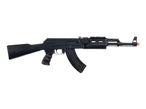 UKARMS P48 Airsoft Gun Tactical AK-47 Spring Rifle with Flashlight FPS 250 (Best Ak 47 Airsoft)