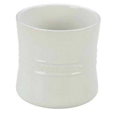 White Utensil Crock (Le Creuset Stoneware 2 3/4-Quart Utensil Crock, White)