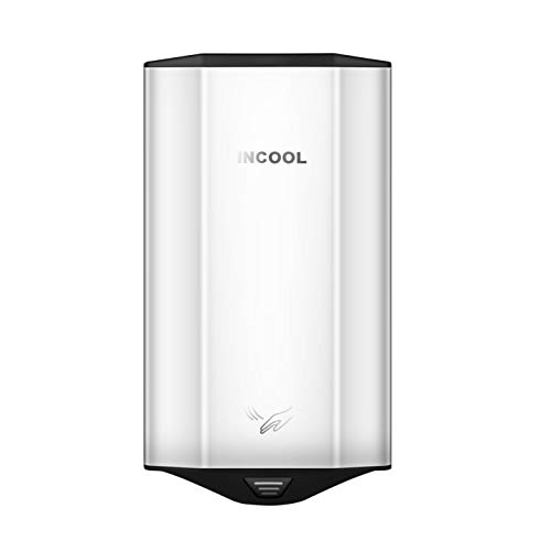 (INCOOL 607P Automatic HighSpeed Commercial Hand Dryer (Polished))