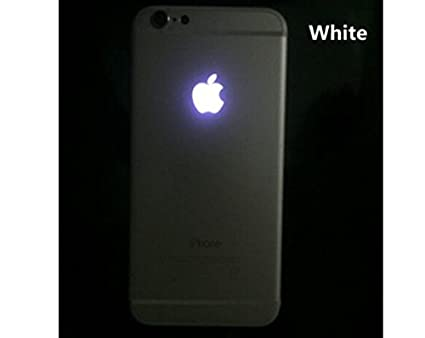 newest d65f4 77d44 QAWACHH Back LED Light Logo for iPhone 6s (White)