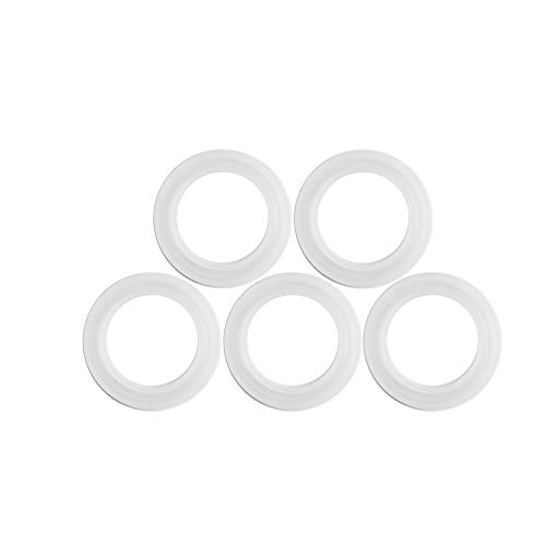 Cosmos 5 PCS Silicone Mould Mold Round for Resin Bangle Bracelet Jewelry Making DIY, Crystal Epoxy ()