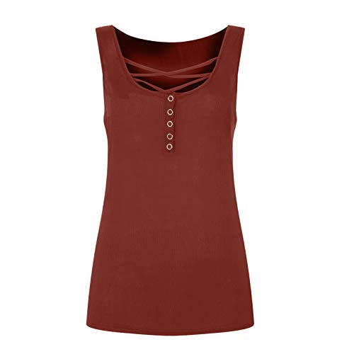 Summer t-Shirt, Fashion New Trend Fashion Summer Short-Sleeved t-Shirt for Ladies Girls(Red_29,L