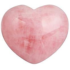 rockcloud Healing Crystal Natural Rose Q...