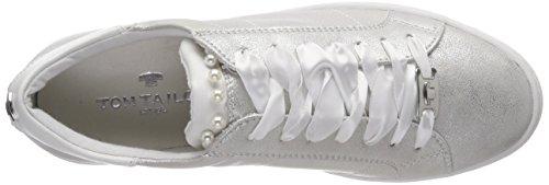 Zapatillas 4892612 Mujer Tailor Plateado Tom silver Para qaEnC