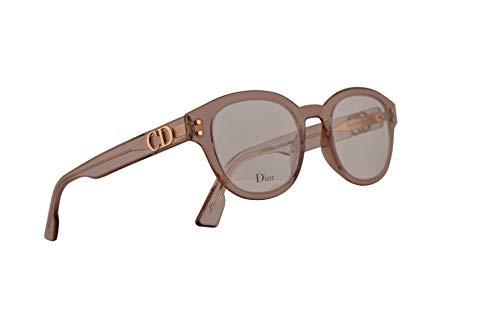 Christian Dior DiorCD2 Eyeglasses 46-22-145 Nude w/Demo Clear Lens FWM ()