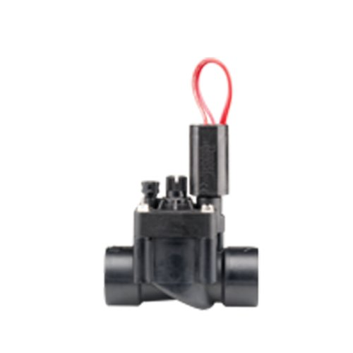 Hunter Sprinkler PGV101MBDC PGV Series 1-Inch Globe Male by Barb Valve with Flow Control and DC Latching Solenoid by Hunter