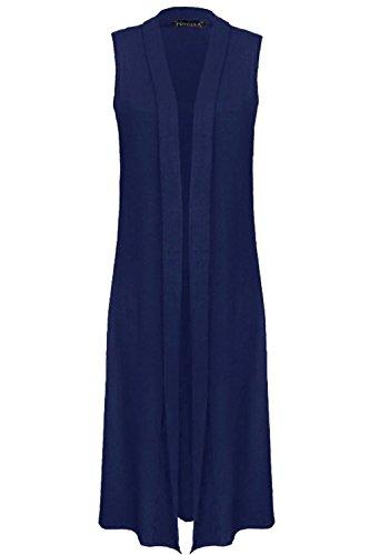 Gilet Bleu Femme CLOTHINGS GK Marine gqPOgx