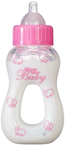 Simba 105563965 - New Born Baby Magisches Milchfläschchen, 13cm