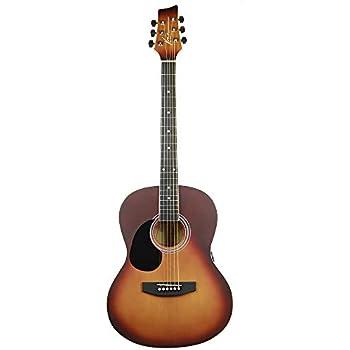 kona guitars k391l hsb parlor series acoustic guitar with precision enclosed tuners. Black Bedroom Furniture Sets. Home Design Ideas