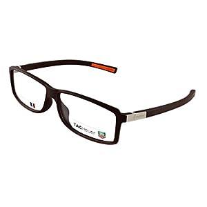 Tag Heuer Urban 7 Rx Eyeglasses Frames Th 0515 012 60x12 Matte Dark Brown