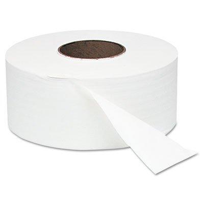 WIN200 - White Jumbo Roll One-ply Bath Tissue, 9quot; Dia, 2000 Ft