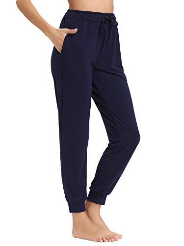 mujer inferior algod Abollria Ropa de de Parte Pantalones de pijama YTRq6Yw