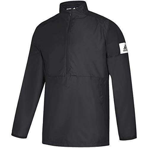 adidas Game Mode Quarter-Zip Jacket - Men's Training XL Black/White