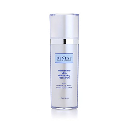 - Dr. Denese HydroShield Ultra Moisturizing Face Serum, Luxury Size, 4 fl, oz. (120 ml)