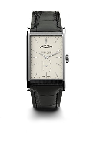 armand-nicolet-mens-9680a-ag-p680nr4-l11-limited-edition-stainless-steel-rectangular-watch-with-blac