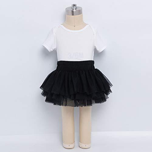 Anbaby Baby Girls Soft Tutu Skirt Toddler Ruffled Pants Diaper Cover