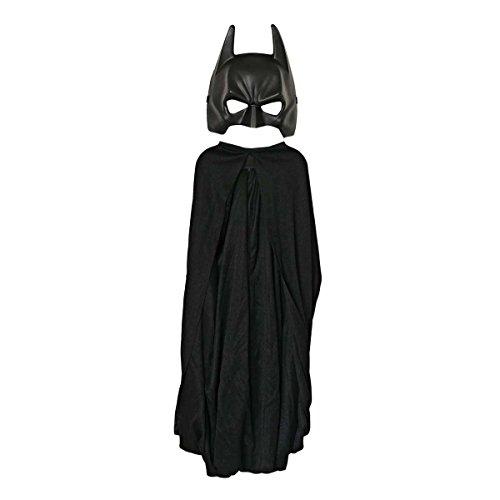 Batman: The Dark Knight Rises: Batman Cape and Mask Set, Child Size (Black) -