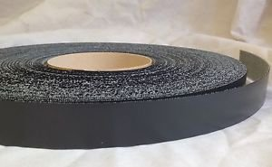 Pre Glued Iron on Melamine Graphite Edging Tape 22mm wide Various Lengths .Free Postage (10 metres)