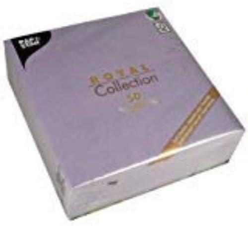 PapStar Royal Collection Tischläufer 50 Servietten champagner Hochzeit Taufe