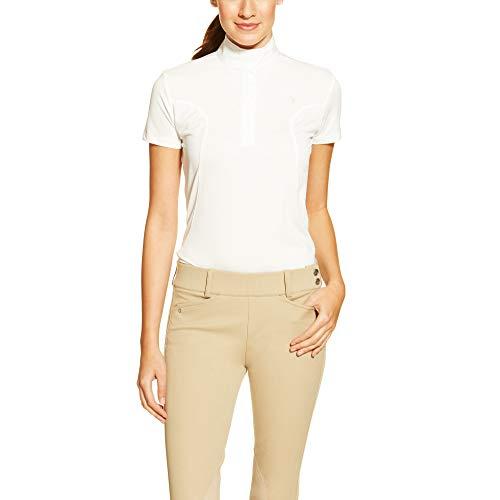 ARIAT Women's Aptos Show Shirt White Size -