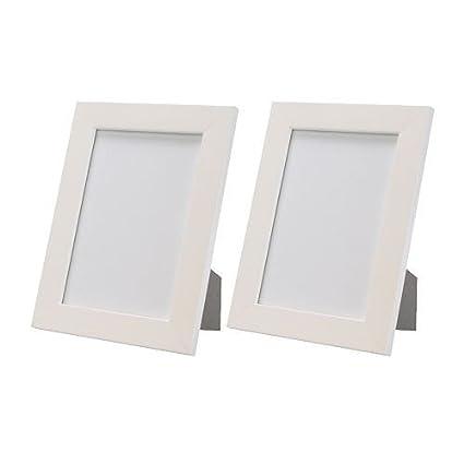 Ikea - 2 conjunto de marcos blancos/ foto marcos \