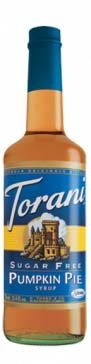 Torani Sugar-Free Syrup, Pumpkin Pie, 25.4-Ounce Bottles (Pack of 3)