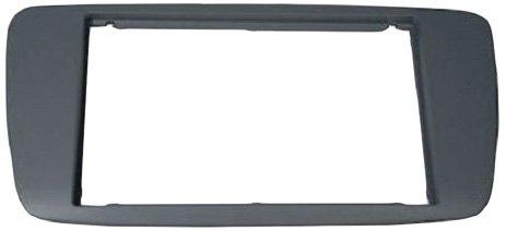 color gris Autoleads DFP-18-04// BG Dublin Grey Soporte doble DIN de radio