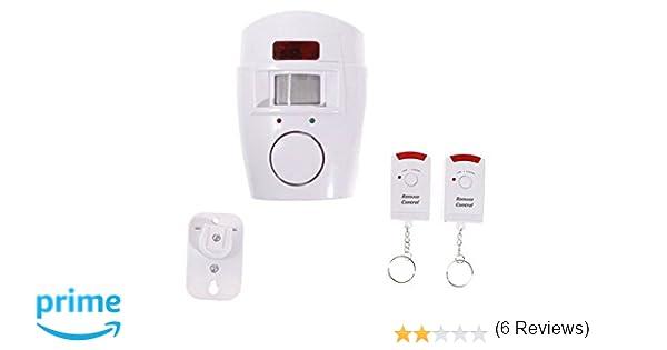 Oem systems company - Alarma autónoma con 2 mandos: Amazon.es: Bricolaje y herramientas