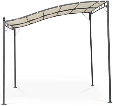 Alices Garden - Pérgola de Pared 3x2.5m Crudo - BRESTUM: Amazon ...