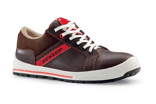 Dunlop DL0201013-39 Street Response S1P Chaussures en daim Beige Taille 39