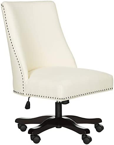 Safavieh Mercer Collection Scarlet Cream Desk Chair