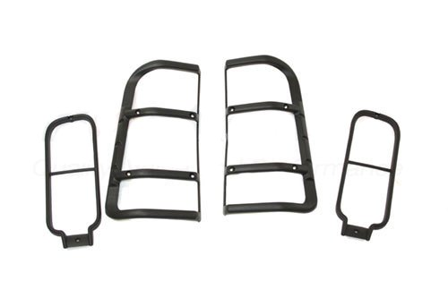 LAND ROVER DISCOVERY 2 1999-2004 REAR LIGHTS GUARDS - SET OF 4 NEW GENUINE PART: STC50027
