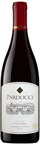 2014 Parducci Small Lot Pinot Noir Mendocino County New Label 750 mL Wine