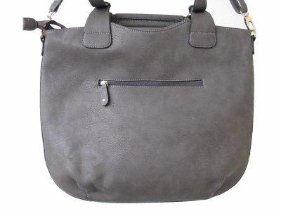 Borsa a tracolla da donna # 7603Borsa da donna moda borsa a tracolla da donna grigio