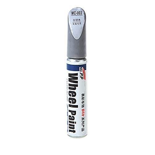 Barlingrock Automotive Scratch Filler Repair Cover Pen Motorcycle Aluminum Alloy Tire Wheel Paint Wheel Repair Pen for Car Lovers and Drivers-Quickly Dry,Non-Toxic, Permanent,Water Resistant