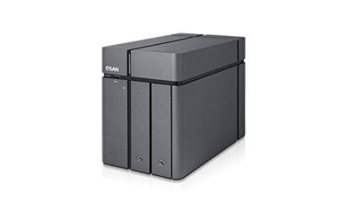 Qsan XCubeNAS XN3002T - Cabina de Almacenamiento, Color Negro