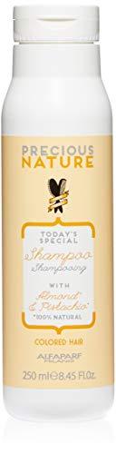 Alfaparf Milano Precious Nature Color Protection Hair Shampoo - Sulfate Free - Sweet Almond Oil and Pistachio Essence - Color Safe - Professional Salon Quality - 8.45 fl. - Alfaparf Shampoo