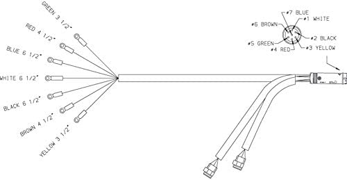 Grote 01-6605-W3 Trailer Wiring