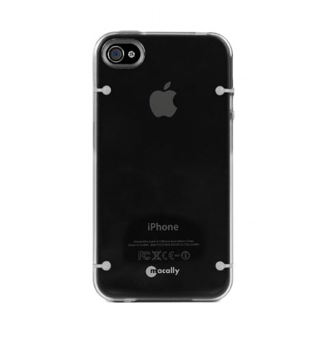 Macally GloDarkC Snap-on Etui für Apple iPhone 4S/4
