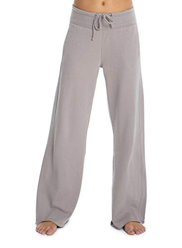 (Barefoot Dreams Malibu Collection Women's Brushed Jersey Pant, Luxury Loungewear, Gym Track Bottoms)