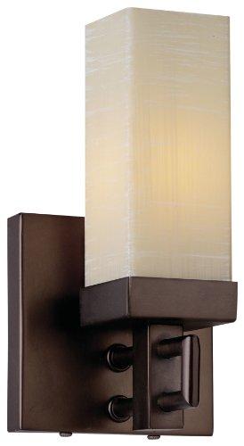 Forecast Lighting F167470 Casa 1 Light Wall Sconce, Merlot Bronze (Forecast Lighting 1 Light)