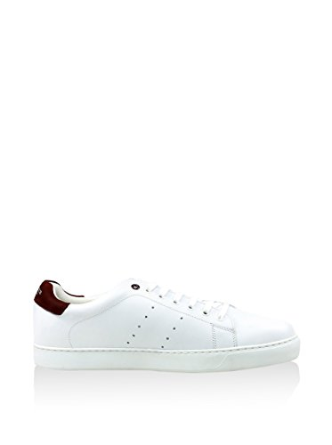 Rooster League Sneaker Leder weiss White
