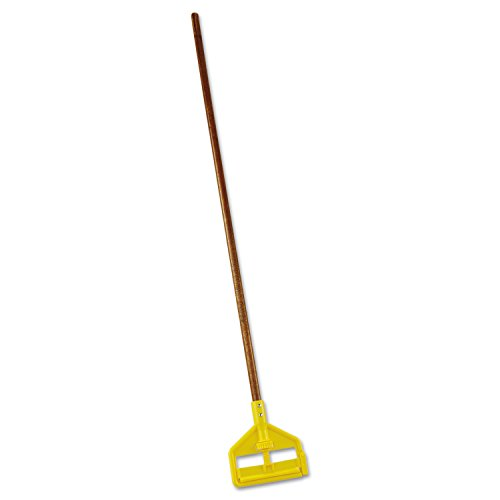 Rubbermaid Commercial invader 54 Inch Wood Wet Mop Handle (FGH115000000)