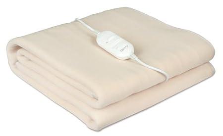 Camry CR7405 - Manta eléctrica, 2 niveles de temperatura, lavable, 180 x 80 cm: Amazon.es: Salud y cuidado personal
