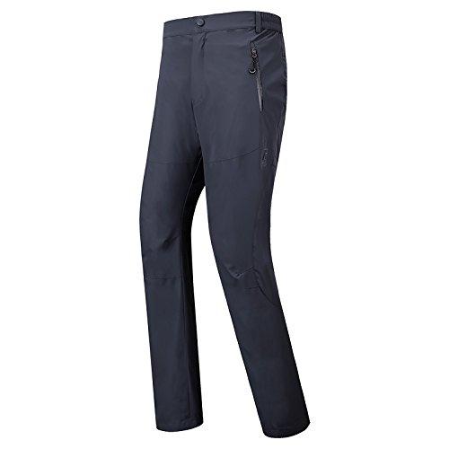 Button Trousers Dark Pants M Men Ski Women FYM JACKETS Large DYF Grey Zipper Size Belt Pocket wq6OzX