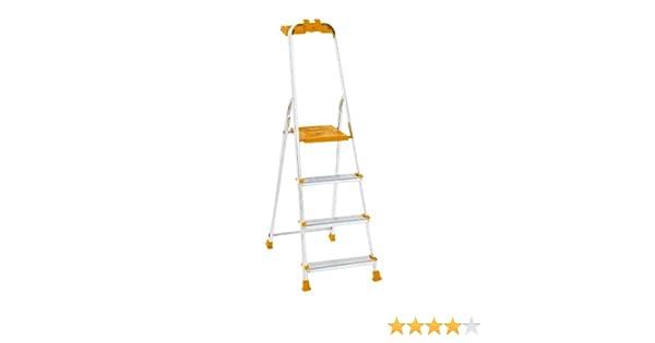 Altimat 01270804 - Escalera de mano (4 peldaños): Amazon.es: Bricolaje y herramientas