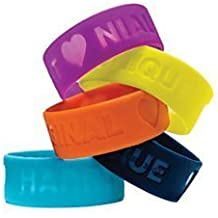 """One Direction Limited Edition 1D + OD Together Silicone Wristbands, Bundle Set of 5: Harry, Liam, Louis, Niall, and Zayn by """"SWINTON AVENUE TRADING LTD., INC."""""""