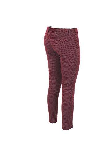 18 H Inverno 40 Autunno Hanita p507 2017 1925 Bordeaux Pantalone Donna xqxwFH1
