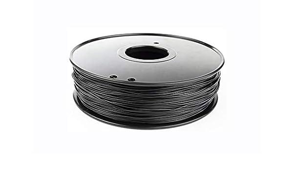 XuBaoFu, 2019 Filamento de Nylon 1.75mm 3mm opción 3D Nylon Negro ...
