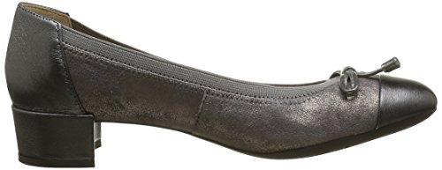 Geox D CAREY A - Zapatillas para mujer Grau (Dk Grey/GUNC9F1G)